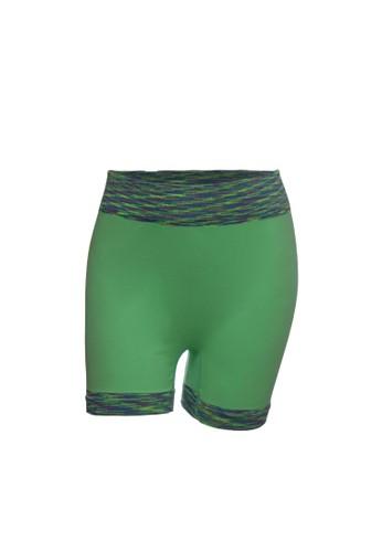 Chelyne green Chelyne Hotpants Sport T3372B Celana Pendek Bahan Rajut 6171AAAA2D3D00GS_1