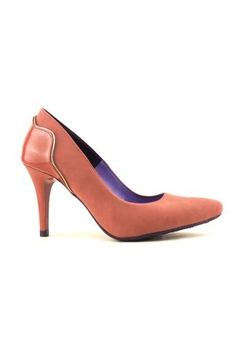 Flatss & Heelss by Rad Russel pink Pointed Elegance Heels-Pink FL655SH0GHBPSG_1