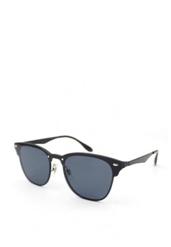 Peculiar and Odd black Peculiar Premium Wayfarer 7063 Mirrored Sunglasses DC9C4GL41FAB18GS_1