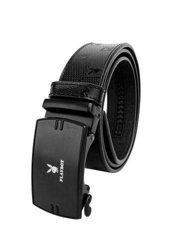 Playboy black 35mm Automatic Belt 0FDC6AC20D7646GS_1