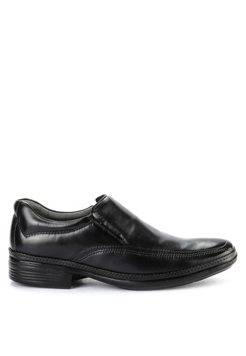 Obermain black Air Float Slip On FEEBASHA4BA92FGS_1