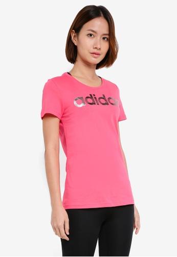 adidas pink adidas foil linear D64DFAA385AD8DGS_1