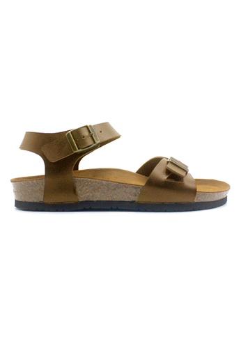 SoleSimple brown Naples - Camel Leather Sandals & Flip Flops EF446SH54AE58AGS_1
