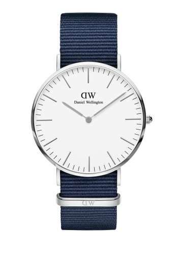 Daniel Wellington silver Classic Bayswater 40mm Silver White Watch D8E5FAC132D088GS_1