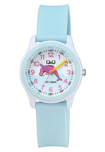 Q&Q blue Q&Q WATCH BY CITIZEN FOR Girls VS59J005Y 23162AC3D7DC5AGS_1