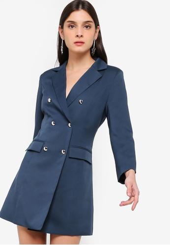 b3c616e38592 Buy ZALORA Double Breasted Blazer Dress Online on ZALORA Singapore