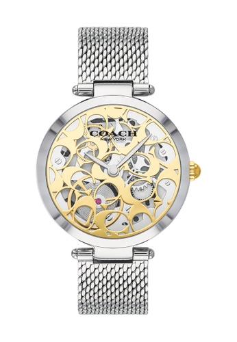 Coach gold Coach Park Gold Women's Watch (14503596) 7F84CACC580F41GS_1