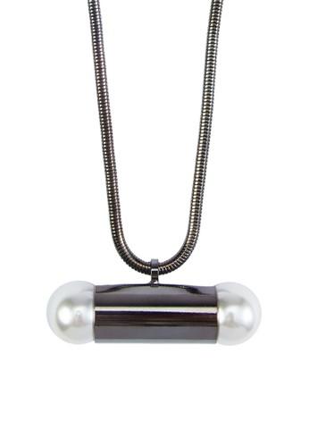 珍珠子彈墜飾項鍊, 飾品配件, 飾zalora開箱品配件