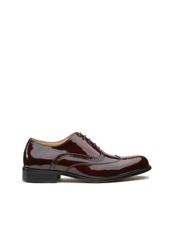 Kings Collection brown Clifton Classic Oxford Shoes 3A317SH0E3F798GS_1