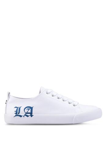 Guess white Edwinn Sneakers 74953SH663C4D2GS_1