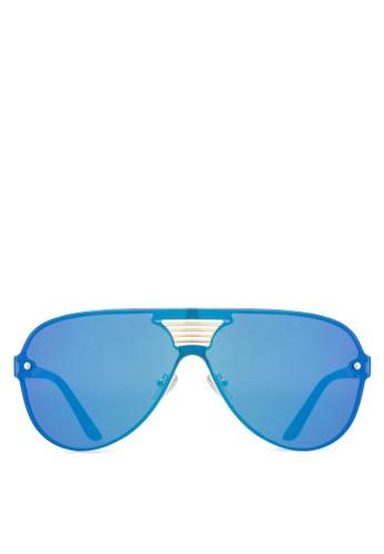 Willy esprit 高雄太陽眼鏡, 飾品配件, 飛行員框