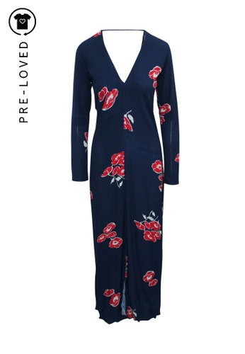 Reformation multi Pre-Loved reformation Maxi Floral Print Dress with Slit 02AE3AA2D91B60GS_1