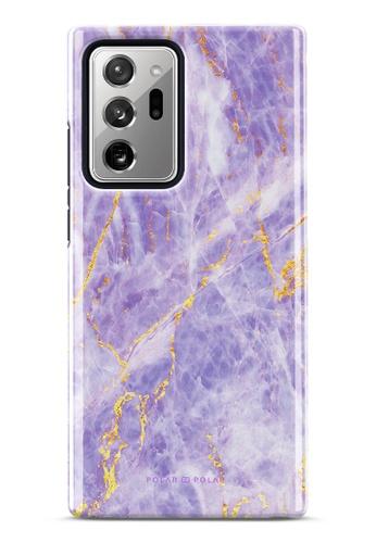 Polar Polar purple Princess Purple Dual-Layer Tough Case Glossy For Samsung Galaxy Note20 Ultra 5G AD7D4AC27BE903GS_1