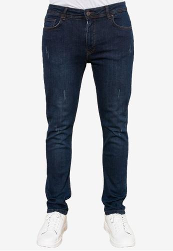 Trendyol blue Skinny Fit Jeans C6E9DAACDEFC77GS_1