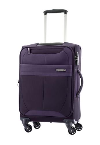 Samsonite purple Samsonite Leroy Spinner 55/20 Exp SA186AC0FAJ3SG_1