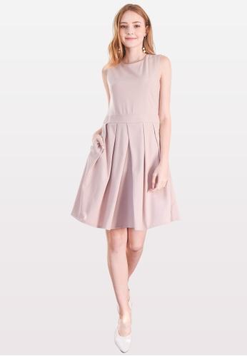 L'zzie pink LZZIE MIA DRESS- PINK 2E9BEAAF1ECD9AGS_1