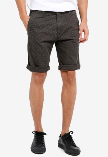 ESPRIT grey Woven Regular Shorts C6AA3AAF06458AGS_1