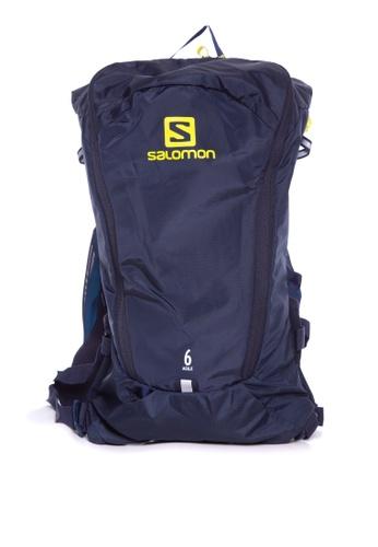 Salomon black Salomon Agile 6 Set Night Sky/Sp Spring 84810AC28138DFGS_1