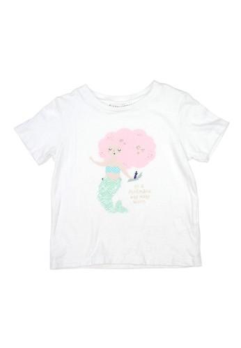 Gingersnaps white Seek Magic T Shirt Offwhite CBB99KADD16039GS_1