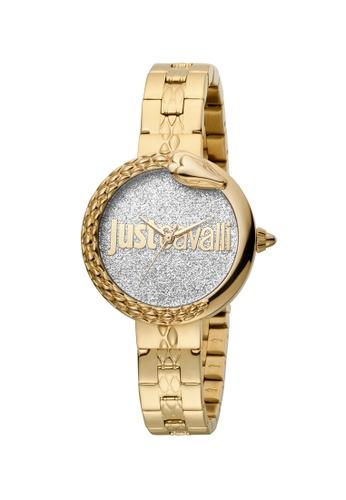 just cavalli gold Just Cavalli JC Moment Women Watch 7DD76AC7223D94GS_1