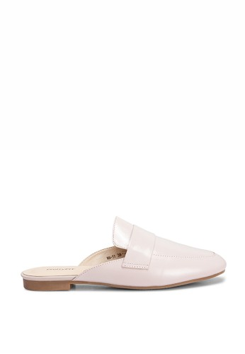PRETTY FIT pink PINK GLOSSY COWHIDE MULES BB3C5SHD32D348GS_1