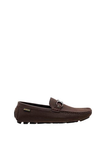 SEMBONIA brown SEMBONIA Men Microfiber Loafer (Brown) D433FSHD27E661GS_1