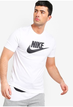 84b82a1d Nike white As Men's Nsw Icon Futura Tee 91542AA2E53083GS_1