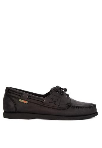 Itti black Top Sider Loafers 718E3SH0F3C4ACGS_1