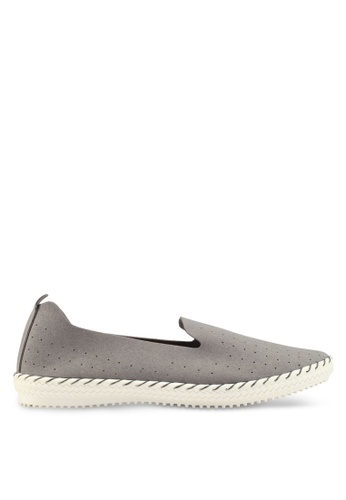 Bata grey Slip-On Loafers FA73DSHAE951B6GS_1