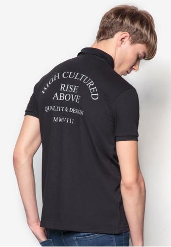 文字印花POLO 衫,esprit品牌介绍 服飾, Polo衫