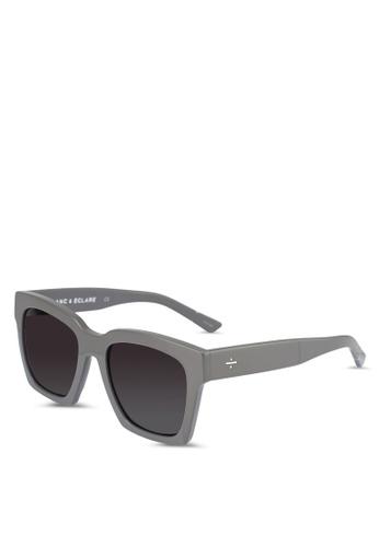 BLANC & ECLARE grey New York Sunglasses 75B1CGLEA3CBC9GS_1