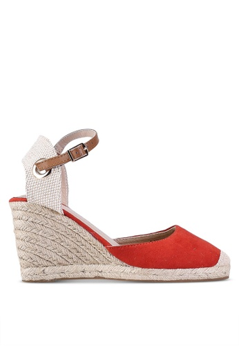 be5e221b5dc Dorothy Perkins red Rust Raya Espadrilles Wedges 2F00DSH17720F4GS 1