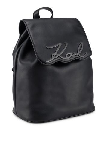 66dd1826ebb1 Shop KARL LAGERFELD Signature Backpack Online on ZALORA Philippines