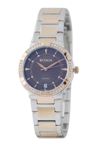 BONIA silver Jam Tangan Bonia Rosso Jam Tangan Wanita BR130-2642S Original 7AB8AAC02A6652GS_1