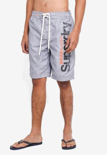Superdry grey Superdry Boardshorts 668D0US71DE50AGS_1
