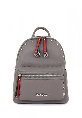 Carlo Rino grey Carlo Rino 0303986-001-18 Backpack CA220AC0RF88MY_1