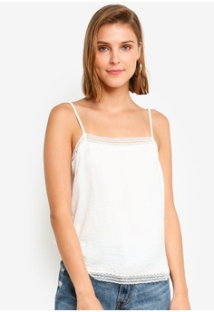 e27be0e35500f Abercrombie   Fitch white Cami Square Neck Top 3F0D2AA105A1A2GS 1