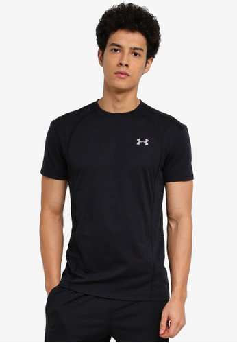 Under Armour black Threadborne Swyft T-Shirt UN337AA0SUAIMY_1
