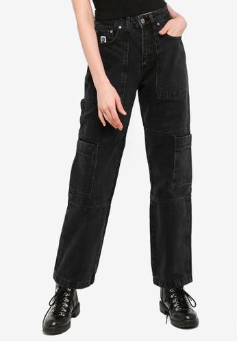 The Ragged Priest black Combat Jeans 34880AA370444BGS_1