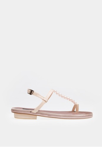 Blanik pink Pearls Sandals BL598SH83KOAID_1