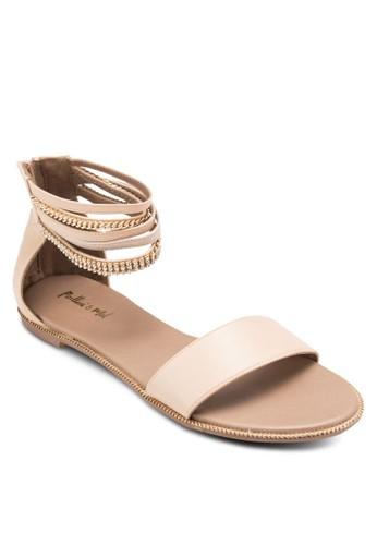 鍊飾包跟涼鞋, esprit 中文女鞋, 鞋