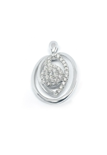 GOLDHEART GOLDHEART Pendant, Diamond White Gold 750 (P5228) 5CA6DAC1877FDEGS_1