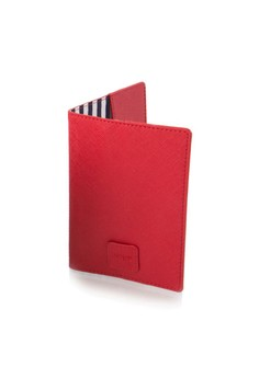 HiLite Leather Passport Holder