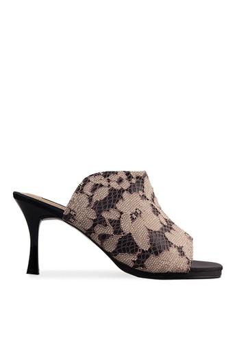 Blanik brown Jeyle Sandals Cream BL598SH00BKTID_1
