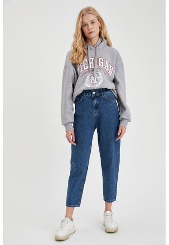 DeFacto blue Woman Denim Trouser BFA23AAA94D28AGS_1