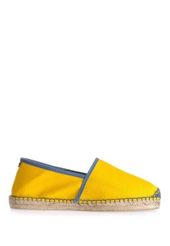 TONI PONS yellow JASPER CAMPING LONA - Slip-On Espadriller 04E76SH769D66AGS_1