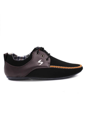 midzone black EXO SCORPION Fashion Slip On D35E1SHB87C2B2GS_1