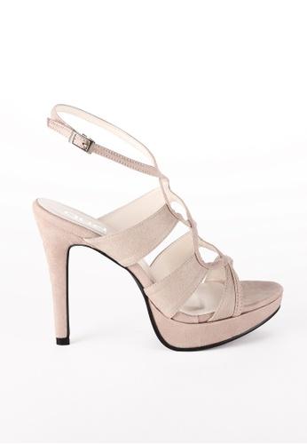 AUDADI beige DAPHNE Strappy Sandal 30A2ESHCA97C5DGS_1