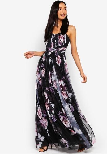 Lipsy multi Amber Print Multiway Maxi Dress 4A3BEAA87689D8GS_1