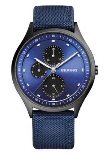 Bering blue Classic  11741-827 Blue 41mm Men's Watch 607B0AC13A7006GS_1